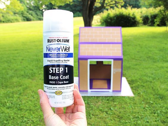 Make a Waterproof Cardboard Box Fort | Made + Remade