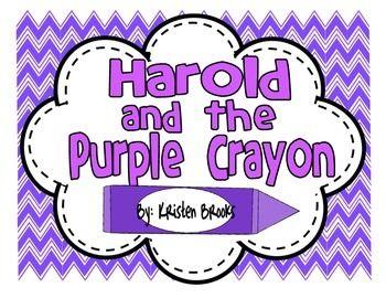"Preschool Activities for ""Harold and the Purple Crayon"" by Crockett Johnson"