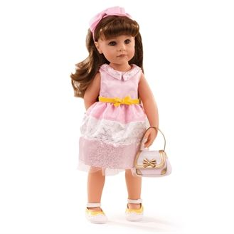 Götz dukke, Hannah, 50 cm - til fødselsdag , 16 dele