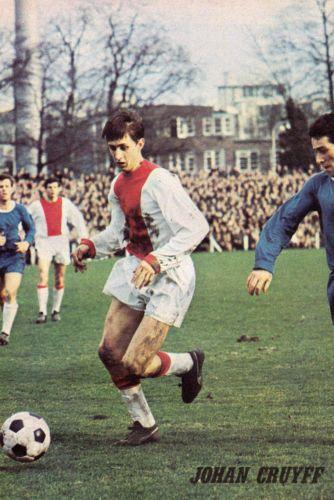Football-Photo-JOHAN-CRUYFF-Ajax-1960s