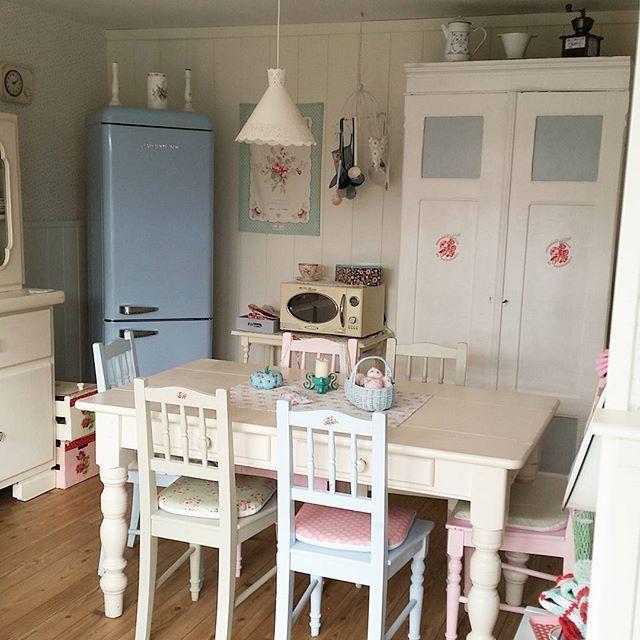 177 best sweet kitchen ideas images on Pinterest Cottage chic - küche shabby chic
