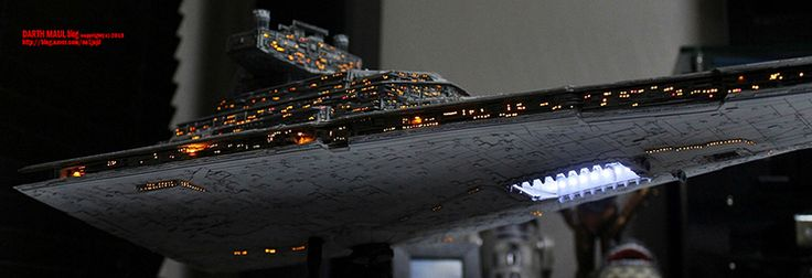Star Wars Imperial Star Destroyer Model