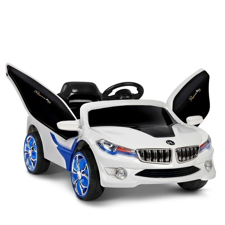 Kids Ride On Sports Car $200.90 W/- Keys, Remote & Gullwing Doors-Free Delivery Aus Wide