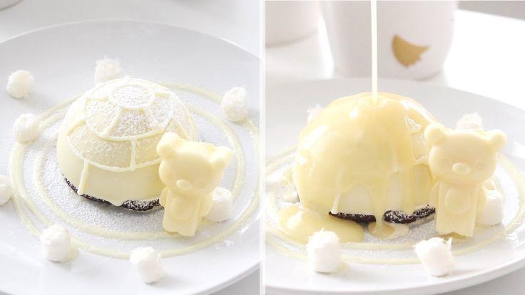 Melting Igloo Dessert | 溶けているイグルーのデザート