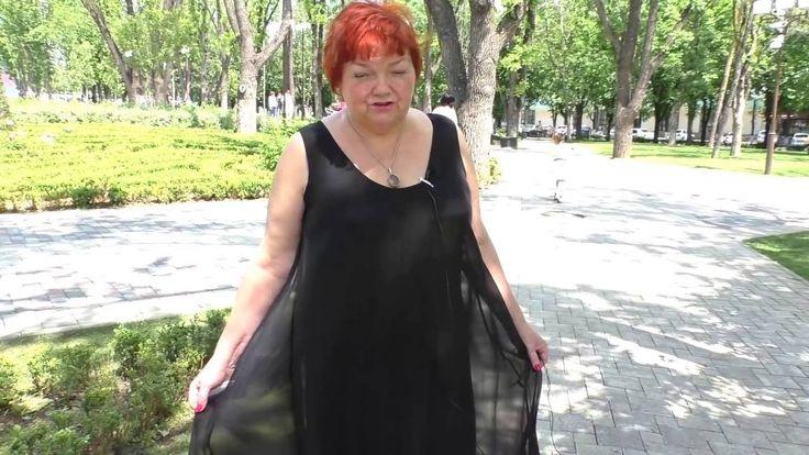 Платье свободного покроя Black loose-fitting dress