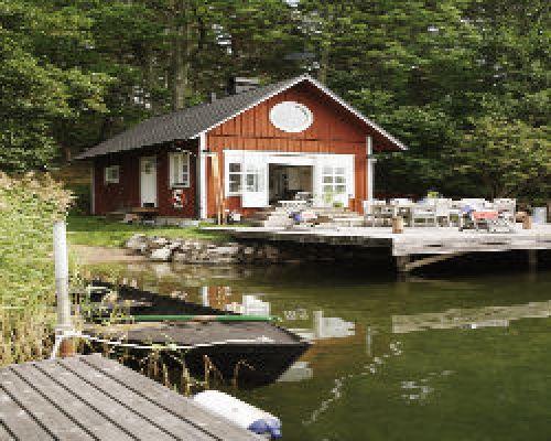 """Ferienhaus Schweden, Stockholm, Värmdö """"Sjöstuga Myttinge"""
