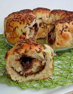 pan brioche alla nutella morbidissimo,ricetta lievitato dolce,pan brioche alla nutella è un dolce per la prima colazione,feste di compleanno, goloso soffice