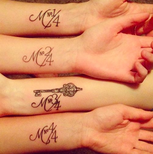 40 Hot Sister Tattoos (1) Ahhh! Some of these are so cute! I wish my sisters would get them with me!!