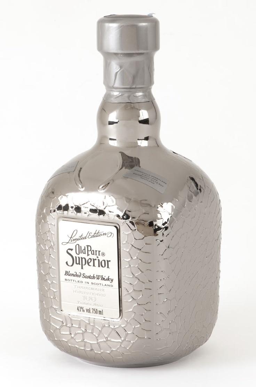 Whiskey old parr superior bottle decoration packaging for Decor drink bottle