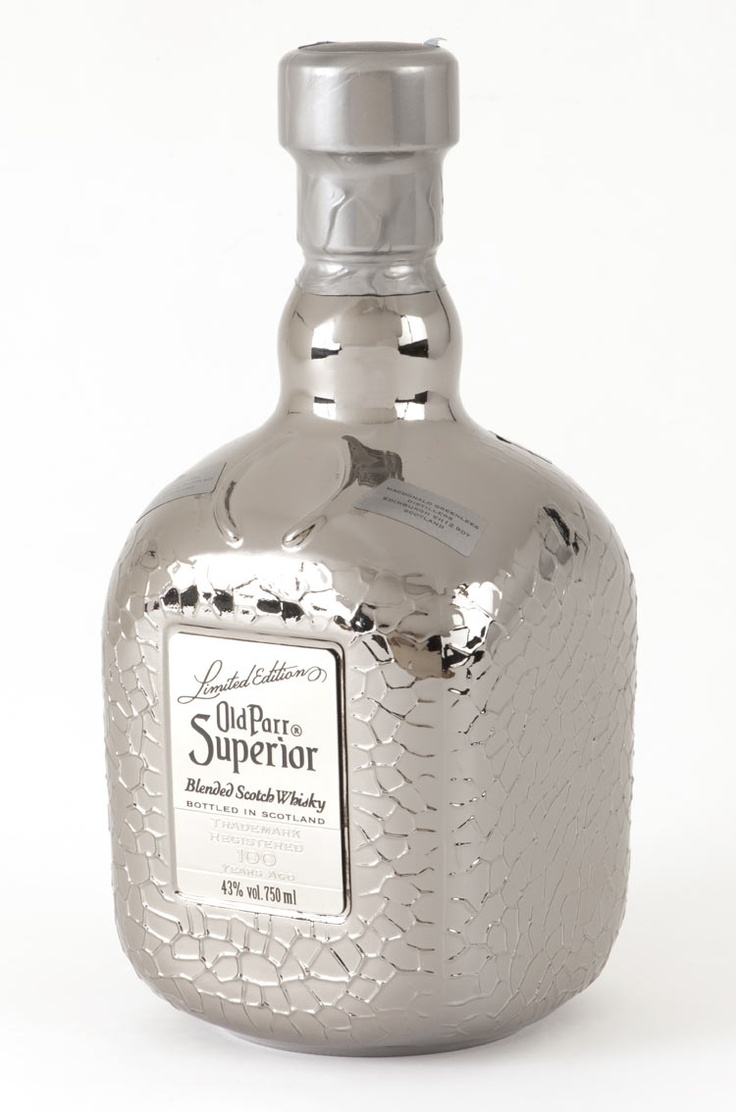Whiskey--Old Parr Superior Bottle Decoration