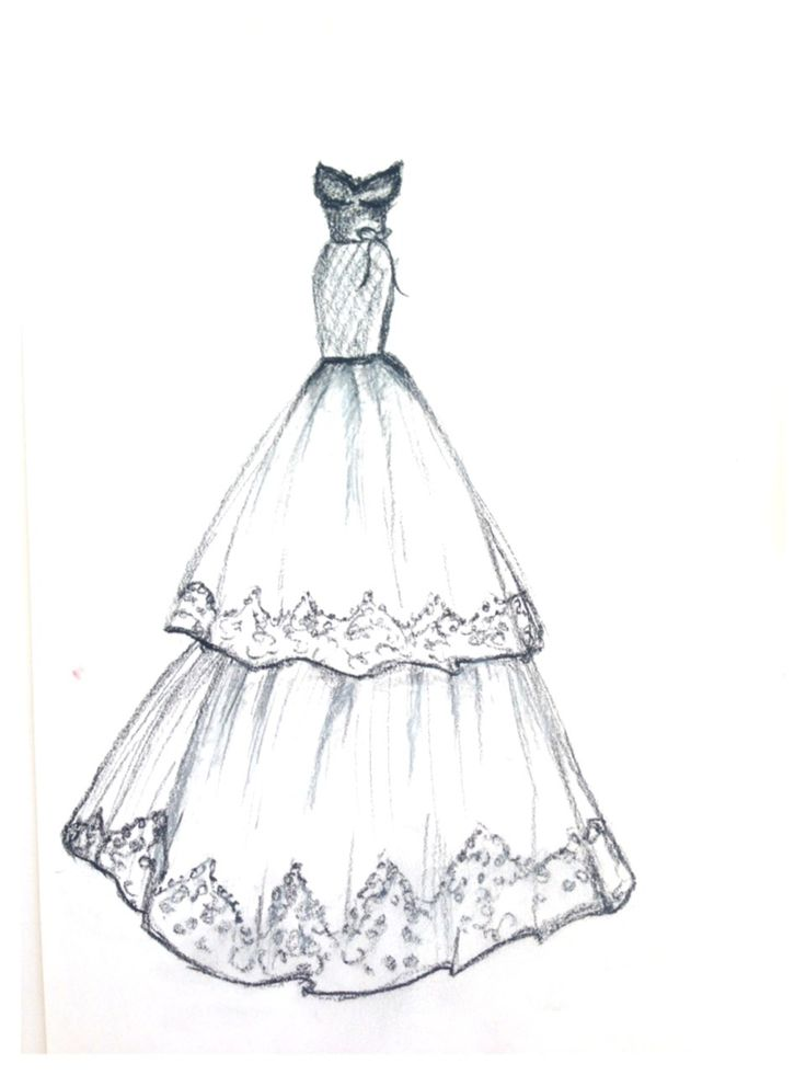 Latest fashion dress designs sketches