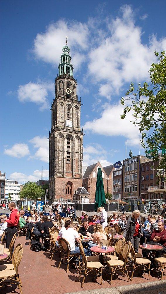 Martinitoren. Groningen. The Netherlands.