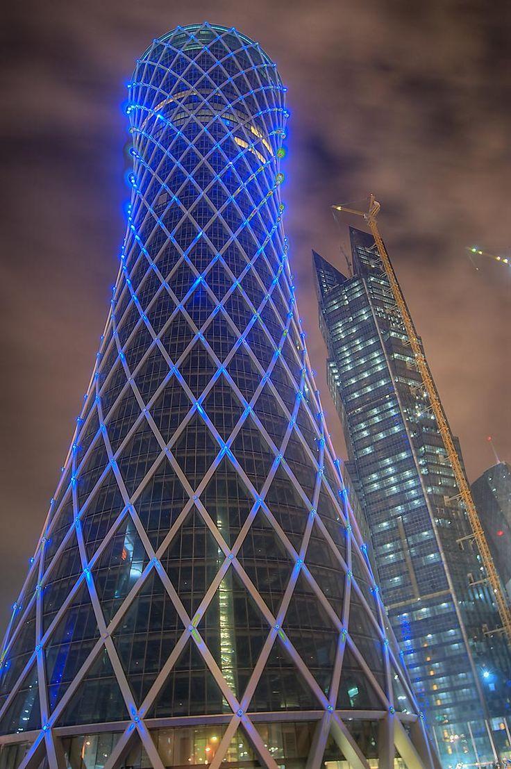 Tornado Tower Doha Qatar Impressive Architecture