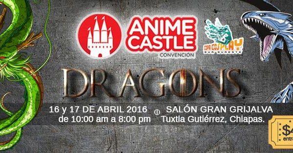 Anime Castle Convención 2016 - Tuxtla Gutierrez, Chiapas, México, 16 y 17 de Abril 2016 ~ Kagi Nippon He ~ Anime Nippon-Jin