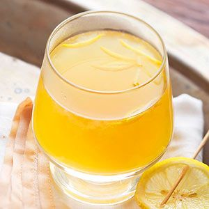 """Described by one reader as an """"excellent hot drink on a cold winter evening,"""" this bright beverage balances its strong citrus flavor with touches of honey and ginger."""