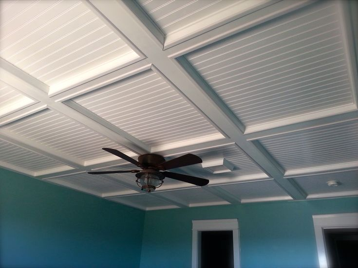 basement ceilings coffered