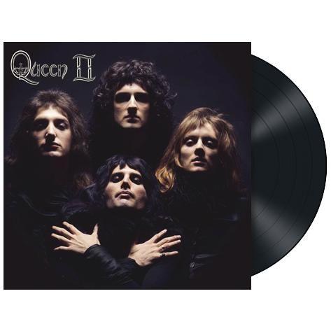 """L'album dei #Queen intitolato """"Queen II"""" in edizione limitata rimasterizzata su vinile nero 180 gr."""