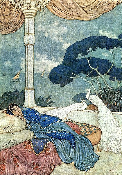 Edmund Dulac (October 22, 1882 – May 25, 1953) : UNHISTORICAL