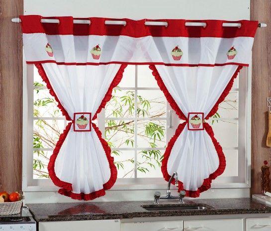 resultado de imagen para cortinas de la cocina de