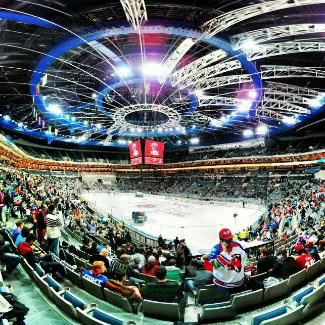 O2 arena / #hockey