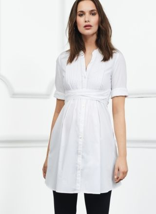 Libby Maternity Tunic Top in [colour] at Isabella Oliver. Discover the leading British maternity fashion brand for chic, premium quality maternity clothes.