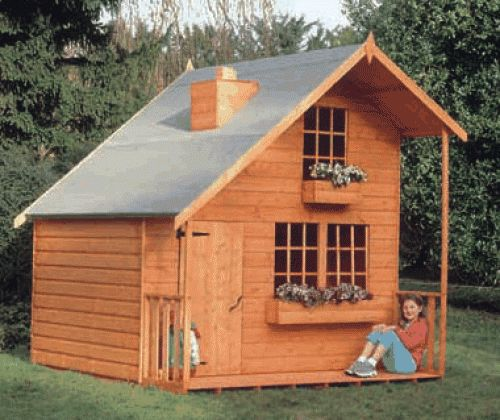 Do It Yourself Home Design: Childs Playhouse Hampshire