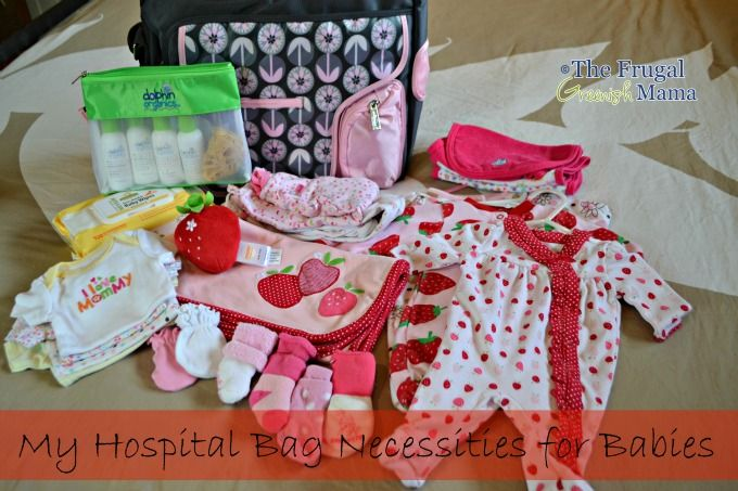 What to Pack in Your Hospital Bag for Delivery - The Frugal Greenish Mama