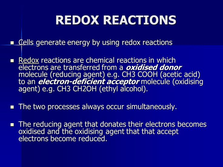 images redox molecule cell repair | ELECTRON TRANSPORT CHAINS & OXIDATIVE PHOSPHORYLATION ...
