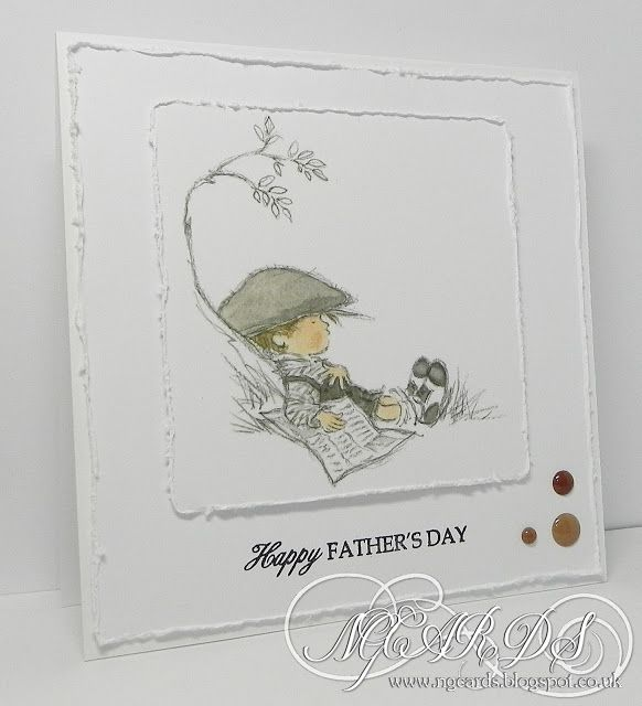 LOTV - Lazy Afternoon Die Cut Sheet (available in LOTV Ebay Store) - or similar in Vintage Boys Art Pad by Natalie Grantham