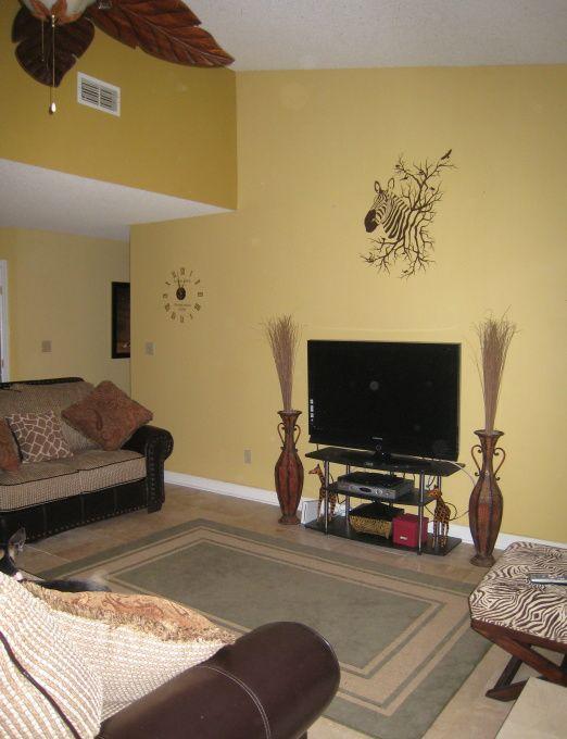 Safari Themed Living Room | Safari Theme   Living Room Designs   Decorating  Ideas   HGTV