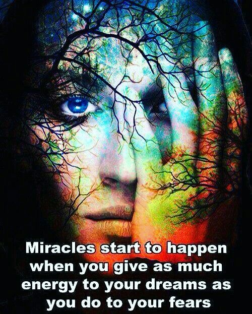 #successweek-45 #miracle happens when you #give as much #energy to your #dream.