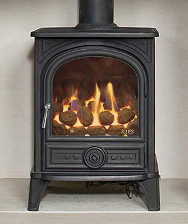 Gas fires and Log burner living room