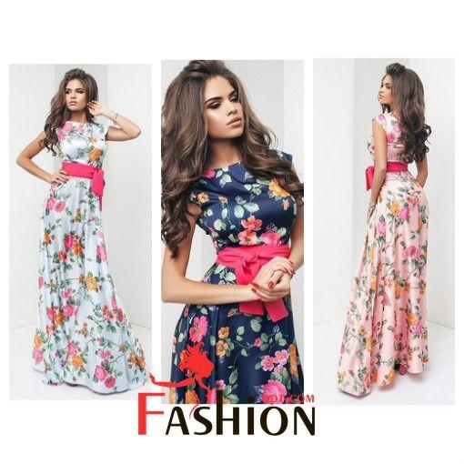 🌹1️⃣6️⃣5️⃣9️⃣руб🌹 Шелковое принтованное платье в пол Модель 1076 Размер: S; M; L Производитель: Sorokka Ткань: Шёлк Длина: Макси Цвета: розовый, голубой, синий, пудра, ментоловый, темно-синий.