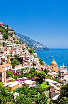 Positano in the Amalfi Coast