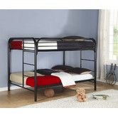 Found it at Wayfair - Sacramento Full over Full Bunk Bed with Built-In Ladder