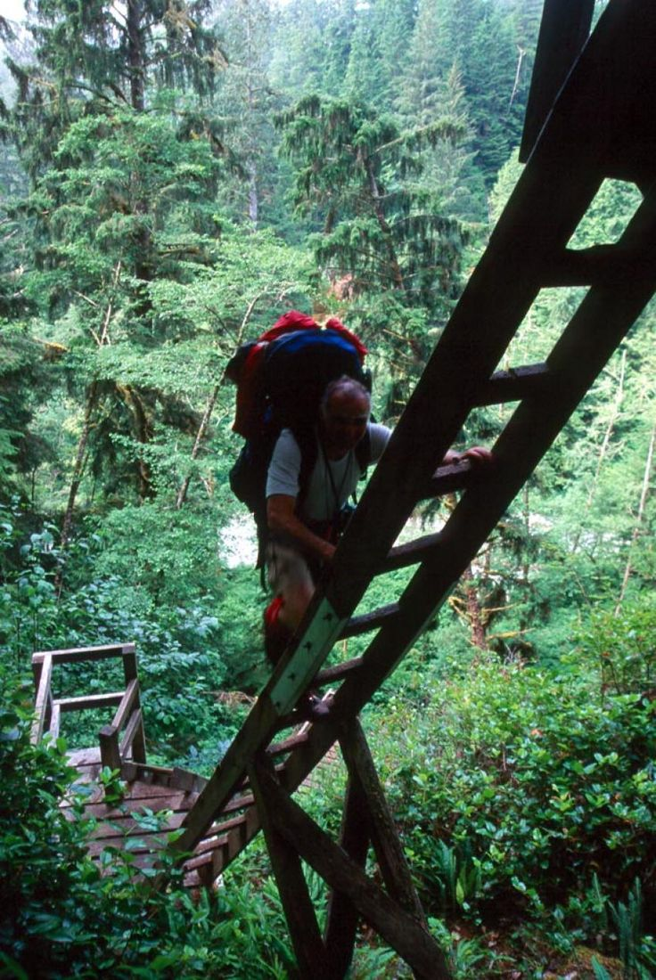 hiking the West Coast Trail ~ Pacific Rim National Park