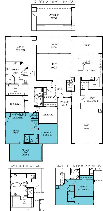 17 best images about multi generational floorplans on for Multi house plans