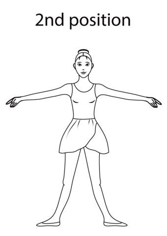 63 best Ballet coloring pages images on Pinterest