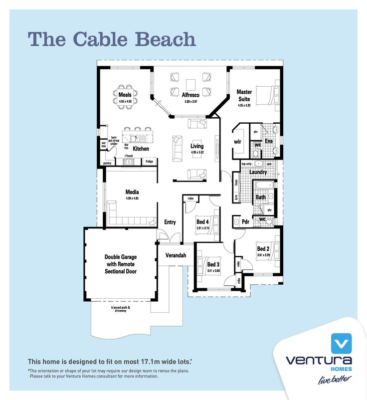 The cable beach ventura homes house plans pinterest for Beach house designs western australia
