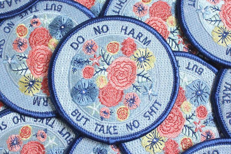 do no harm but take no shit