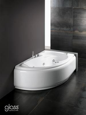 Oltre 25 fantastiche idee su vasca da bagno ad angolo su - Misure vasca da bagno ...