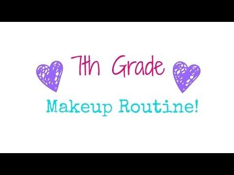 7th Grade Makeup Routine! - YouTube