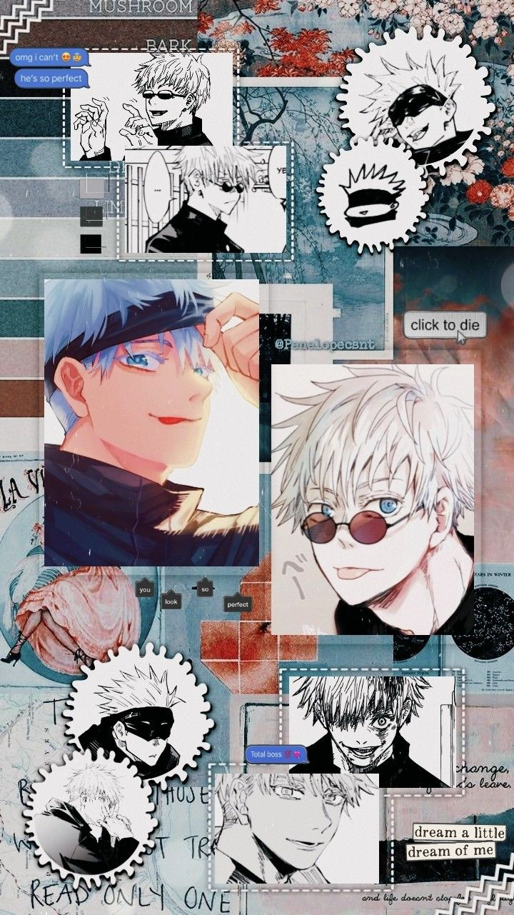 Gojou Satoru Anime Wallpaper Cute Anime Wallpaper Anime