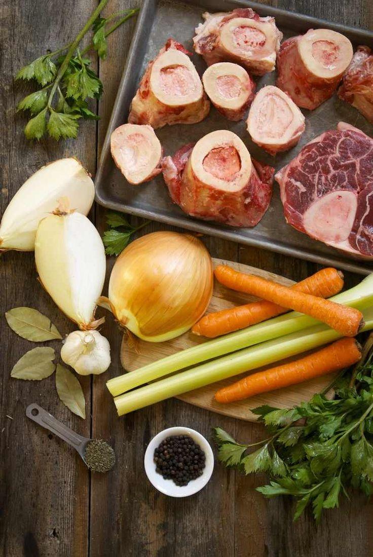 2500 best recettes images on pinterest - Bouillon d os ...