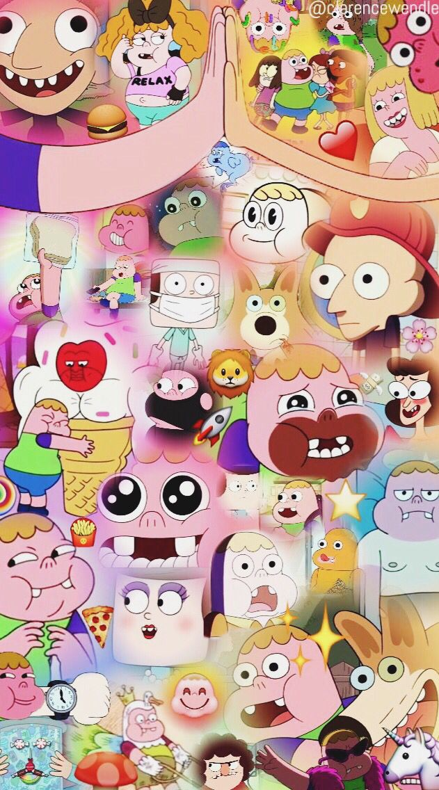 Clarence wallpaper cartoon network ✨ Jeff, Sumo