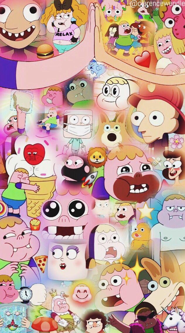 Clarence wallpaper cartoon network ✨ Jeff, Sumo