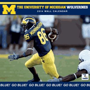 The 2014 Michigan Wolverine Action Football Calendar Is Almost Sold Out!