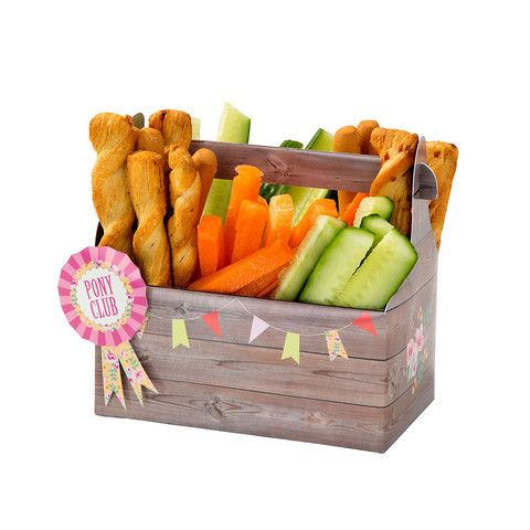 Pony Party Tack Box Snacks - perfect for your Horse and Pony Party! Available at www.mungoandmaisie.co.uk