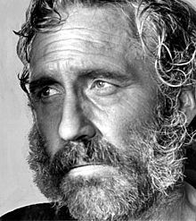 Jason Nelson Robards, Jr. - American Actor - This image is 1968.  Highly Awarded actor.  Husband of Lauren Bacall.  Father of Sam Robards.  Grandfather of Jasper Robards. Also, a Navy combat veteran of World War II
