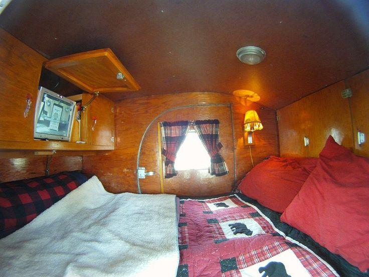 1947 ken skill interior nice teardrop interiors for Interior caravan designs